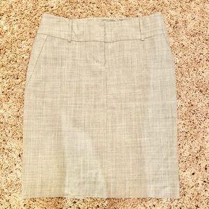 Grey Express Pencil Skirt